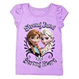 Disney Frozen Strong Bond Strong Heart Toddler Girls' Graphic T-Shirt