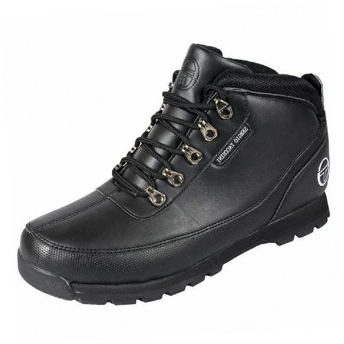 Sergio Tacchini Little Boys Synthetic Ayr Mid Casual School Boots 6 Us / 5 Uk / 38 Eu Black / Black (Sergio Tacchini Shoes compare prices)