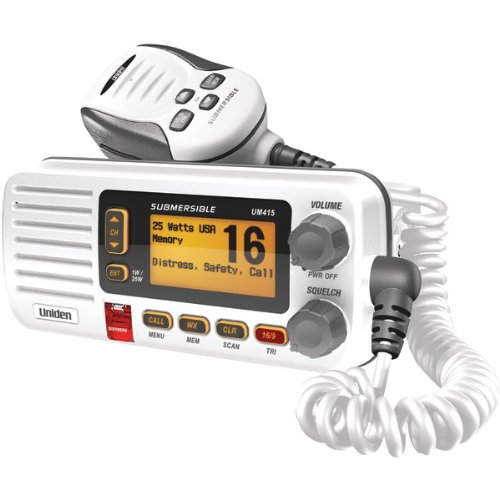 Best Buy! Uniden UM415 Full Featured VHF Marine Radio