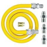 Watts Dormont 30C-3131KIT-48B Complete Gas Range Install Kit 48-Inch Length