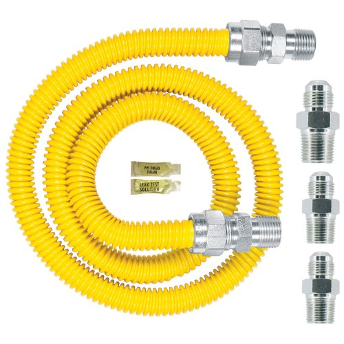 Watts Dormont 30C-3131KIT-48B Complete Gas Range Install Kit 48-Inch Length (48 Range Gas compare prices)