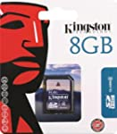 Kingston 8 GB Class 4 SDHC Flash Memo...