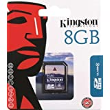 "Kingston SDHC Secure Digital Speicherkarte 8 GB Class 4 (Original Handelsverpackung)von ""Kingston"""