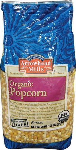 Arrowhead Mills Organic Popcorn -- 28 oz