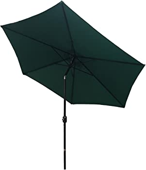 Palm Springs 9ft Aluminum Patio Umbrella with Tilt