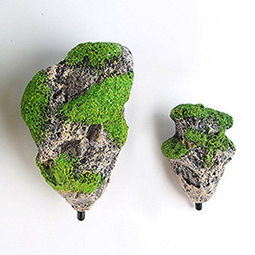 Sefuu アクアリウム オブジェ オーナメント 水槽 用 アクセサリー 飾り絶景 山 岩 魚 の 隠れ家
