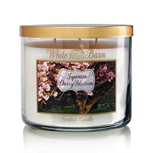 Bath Body Works Japanese Cherry Blossom 3-Wick Scented Candle