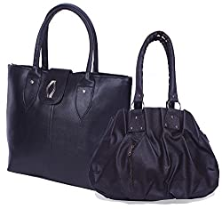 H&H Women Combo Handbag Pretty + Diva - Black