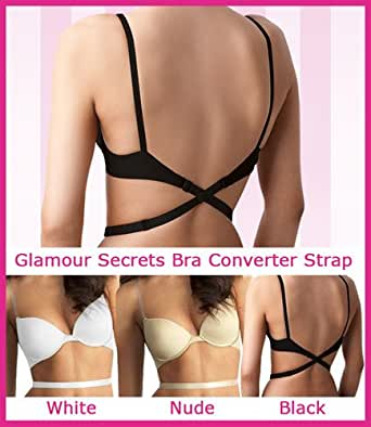 Alterback - Low Back Bra Converter Strap (Clear Nude)
