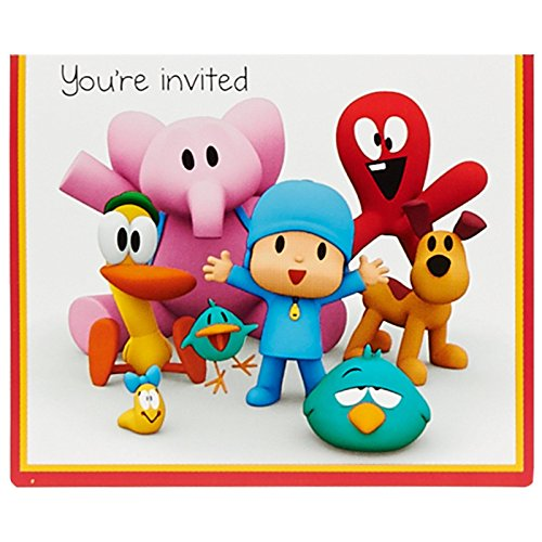 Pocoyo Invitations (8)