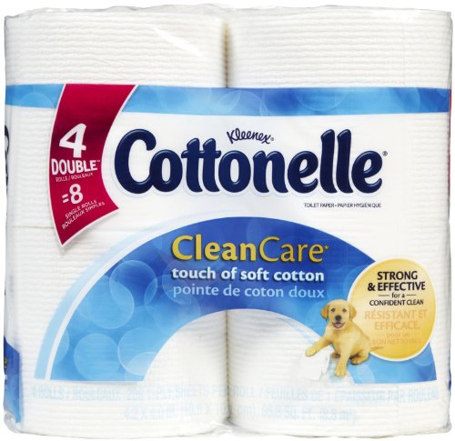 Cottonelle Clean Care Bath Tissue Double - 208 Sheets 8 Pack