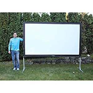 Visual Apex ProjectoScreen132HD Portable Movie Theater Projector Screen