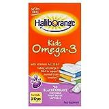 Haliborange Haliborange Omega-3 Fischöl Schwarze Johannisbeere Caps 90