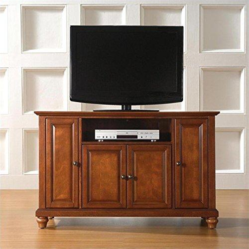 Crosley Furniture Cambridge 48-Inch TV Stand, Classic Cherry image