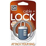 GO TRAVEL - Combination Link-Lock -supplied in assorted colours- Go 891