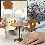 San-X Rilakkuma Miniature Cafe Table And Chair Set