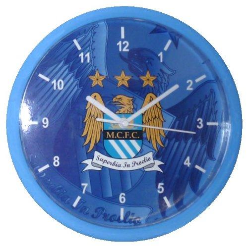 Manchester City Fc Football Wall Clock Official