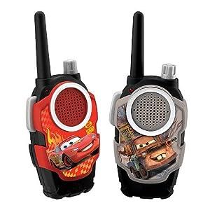 Disney Pixar Cars 2 Walkie Talkies