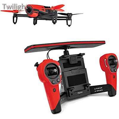 Parrot BeBop Drone Quadcopter with Skycontroller Bundle (Red) from Twilight