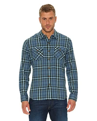 Levi's Camisa John Azul Medio