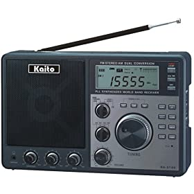 Kaito PLL Synthesized Dual Conversion AM/FM Shortwave Radio, KA2100