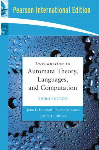 Introduction to Automata Theory Languag