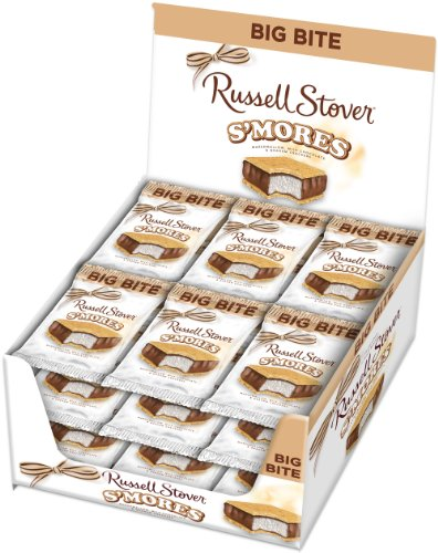 Russell stover s 39 mores big bite candy single bar food for Food bar russell