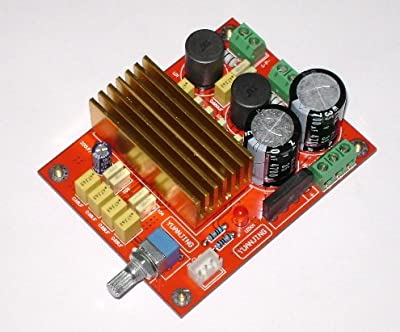 RioRand 2.0 Digital Audio Amplifier 2channel 100W+100W TDA8920BTH Class D Power AMP DIY Kit Module 2 ch