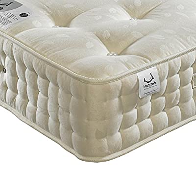 Happy Beds Jewel 2000 Pocket Sprung Orthopaedic Natural Mattress