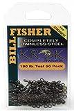 Billfisher SSS7-50PK Krok Stainless Steel Fishing Swivels