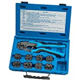 SG Tool Aid SGT18980 Ratcheting Terminal Crimping Kit (Quick Change with 9 Die Sets)