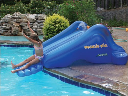 Black friday cosmic slide inflatable pool slide cyber for Cheap inflatable pool