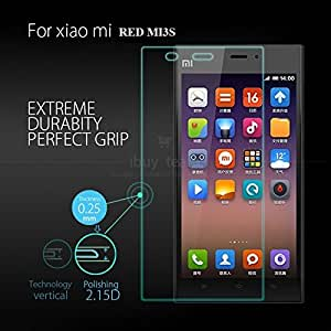 Xiaomi RED MI3S Tempered Glass Screen Protector Screen Guard 2.5D 9H Hardness Perfect Fitting Anti Dust Shatter Proof Bubble Free Crystal Clear Screen Guard Screen Protector Tempered Glass Xiaomi RED MI3S