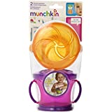 Munchkin 10122 Two Snack Catchers (Colors May Vary)