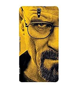 AROGANCE DEPICTED BY AN ANGRY MANS FACE 3D Hard Polycarbonate Designer Back Case Cover for Sony Xperia C5 Ultra Dual :: Sony Xperia C5 E5553 E5506 :: Sony Xperia C5 Ultra