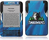Skinit Kindle Skin (Fits Kindle Keyboard), Minnesota Timberwolves