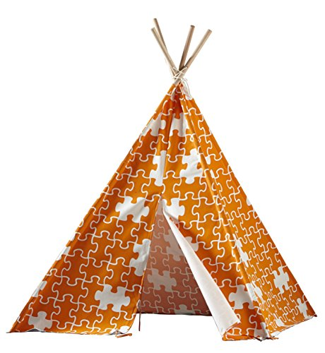 Merry Garden Children's Teepee Blue with White Stars