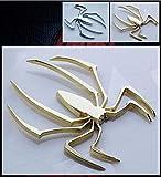 蜘蛛 ゴールド カッティングステッカー ウォールステッカー ステッカー シール スパイダー