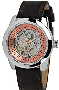 Android Caprice Skeleton Automatic Men's Watch Brown AD655ABN [Watch]