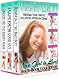 Nice Girl to Love: Three-Book Collection (#1 Resisting the Bad Boy, #2 Falling for the Good Guy, #3 Choosing the Right Man) (English Edition)