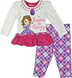 "Disney "" Sofia The First"" Toddler/Little Girls Set, (Size: 12M-4T)"