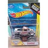 Hot Wheels Monster Jam Zombie Includes Monster Jam Figure 2014 New Truck Off-road