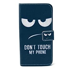 buy Finecase Galaxy S6 Edge Wallet Case, Anti Scratch [ Smiling Series] Sparkle Pattern Fashion Style Premium Pu Leather Wallet Case, Stand Feather With Built-In Id & Credit Card Slots Pockets Flip Cover Built-In Magnetic Closure Cover Case For Samsung Galaxy