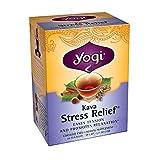 Yogi Kava Stress Relief Tea, 16 Tea Bags (Pack of 6) ~ YOGI