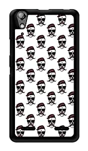 "Humor Gang Men Moustache Sunglasses Printed Designer Mobile Back Cover For ""Lenovo A6000 Plus"" (3D, Glossy, Premium Quality Snap On Case)"