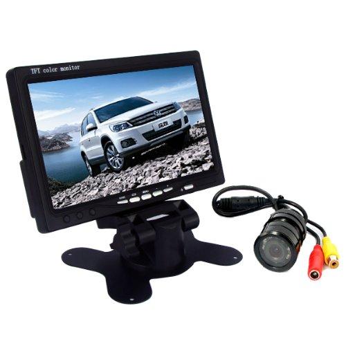Generic 7 Inch Car Tft Lcd Monitor With 9 Ir Led Night Vision Reversing Camera