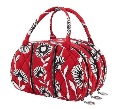 Vera Bradley Three to Get Ready Cosmetic Case in Deco Daisy