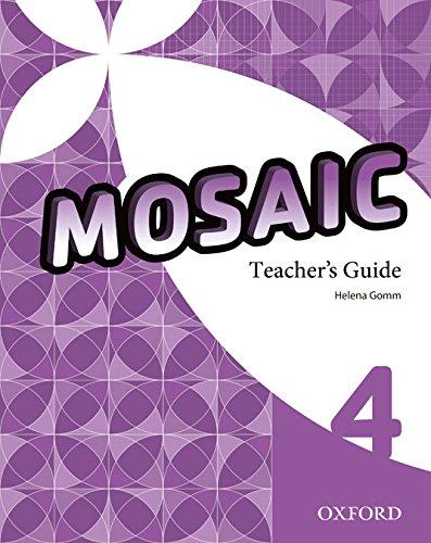 Pack Mosaic 4. Teacher's Book (+ Teacher's Resource CD)