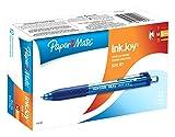 InkJoy 300 RT Retractable Ballpoint Pens, Medium Point, Blue Ink, 12-Pack