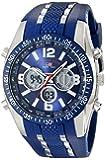 U.S. Polo Assn. Sport Men's US9284 Blue Analog-Digital Chronograph Watch
